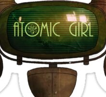 Atomic Girl Atompunk Screen Sticker