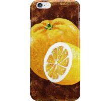 Orange And Lemon Decorative Painting iPhone Case/Skin