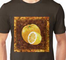Orange And Lemon Decorative Painting Unisex T-Shirt