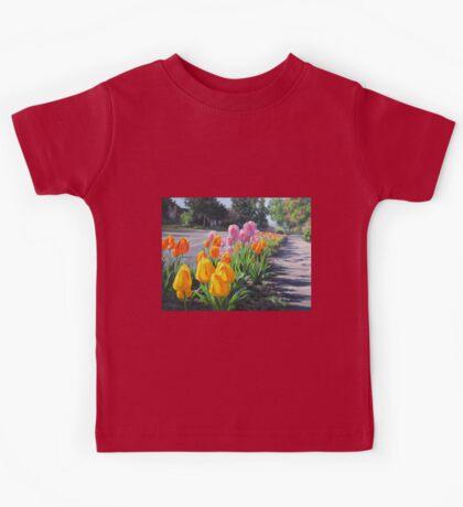 Street Tulips Kids Tee