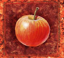 Apple Decorative Painting by Irina Sztukowski