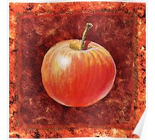 Apple Decorative Painting Poster