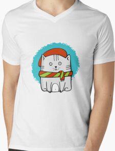 Cute Little Kitty  Mens V-Neck T-Shirt