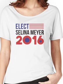 Elect Selina Meyer 2016 - Flag Women's Relaxed Fit T-Shirt