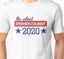 Re-Elect Stephen Colbert 2020 - Stars Unisex T-Shirt