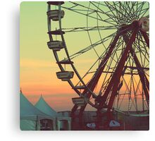 Ferris wheel Canvas Print