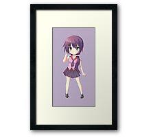 Senjougahara Chibi No. 1 Framed Print