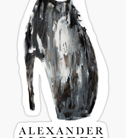 Alexander McQueen Handmade  Sticker