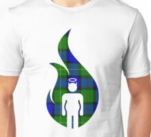 Blue and Green Beer Belly Mens Room Unisex T-Shirt