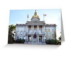 New Hampshire State House Greeting Card