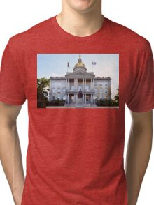 New Hampshire State House Tri-blend T-Shirt