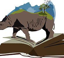Extinct Rhinos by SarGraphics