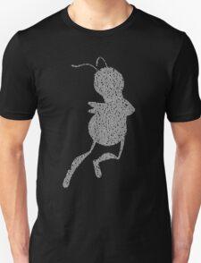 Bee Script Funny T-Shirt
