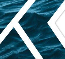 """The Letter """"K"""" Ocean Sticker"""