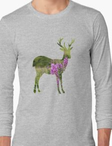 Fireweed on a Mountain Long Sleeve T-Shirt