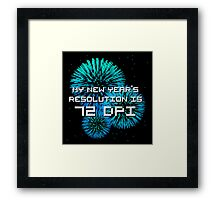 New Rez Framed Print