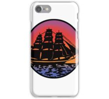 Pirate Ship - Color iPhone Case/Skin