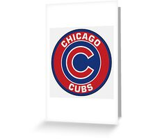 Chicago Cubs Logo NL Greeting Card