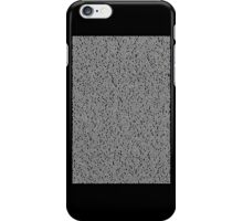 Bee Script Black iPhone Case/Skin