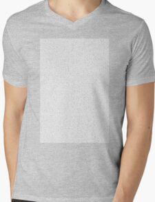 Bee Script Black Mens V-Neck T-Shirt
