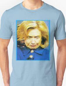 Hillary Monster Face T-Shirt