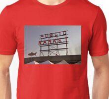 Seattle Public Market Sign Unisex T-Shirt
