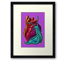 Cardio Gastropod Framed Print