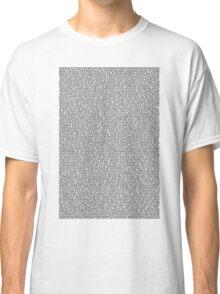 Bee Script White Classic T-Shirt