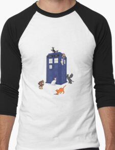Doctor Who: Cats Men's Baseball ¾ T-Shirt