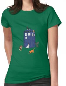 Doctor Who: Cats Womens Fitted T-Shirt