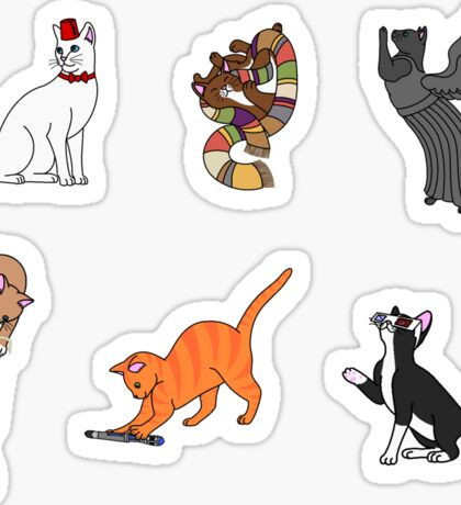 Doctor Who: Cats Sticker