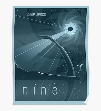 Deep Space Nine Poster Poster