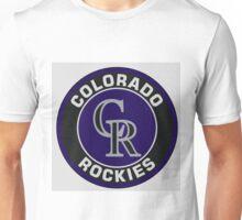 Colorado Rockies Logo NL Unisex T-Shirt