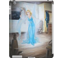Unexpected visitor iPad Case/Skin