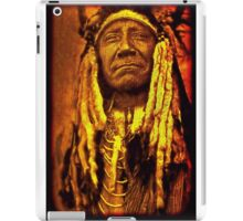 Chief Two Moons iPad Case/Skin