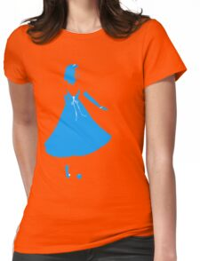 Simply Blue Womens Fitted T-Shirt