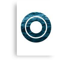 "The Letter ""O"" Ocean Canvas Print"