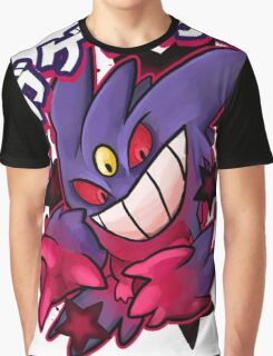 Mega Gengar Pokemon Graphic T-Shirt