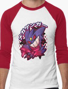 Mega Gengar Pokemon Men's Baseball ¾ T-Shirt