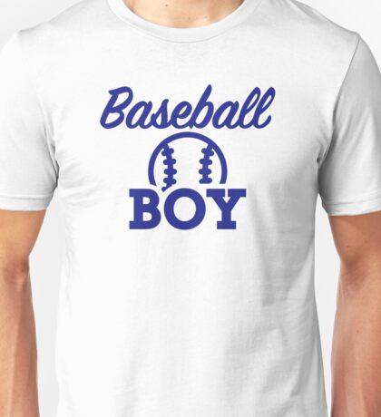 Baseball boy Unisex T-Shirt