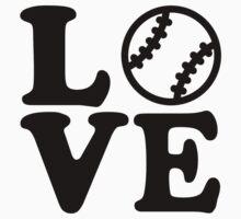 Baseball love by Designzz