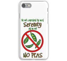 No Peas iPhone Case/Skin