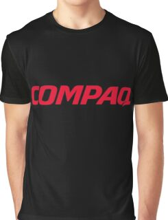 Compaq Logo Products Graphic T-Shirt