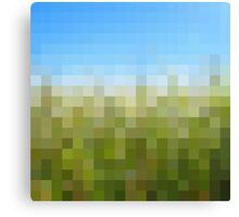 Nature Pixels No 29 Canvas Print