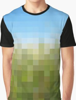 Nature Pixels No 29 Graphic T-Shirt