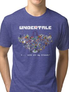 Monster Friends - Undertale Tri-blend T-Shirt
