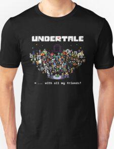 Monster Friends - Undertale Unisex T-Shirt