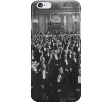 1906: Eleventh Annual Dinner, Erie Railroad Association, Hotel Savoy, New York (Library of Congress) iPhone Case/Skin