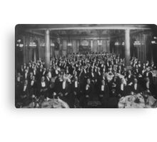 1906: Eleventh Annual Dinner, Erie Railroad Association, Hotel Savoy, New York (Library of Congress) Canvas Print