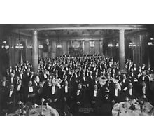 1906: Eleventh Annual Dinner, Erie Railroad Association, Hotel Savoy, New York (Library of Congress) Photographic Print